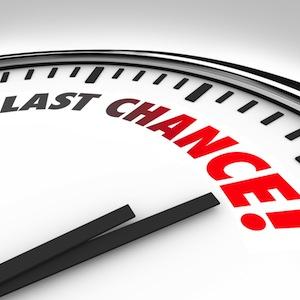 Last-chance-clock