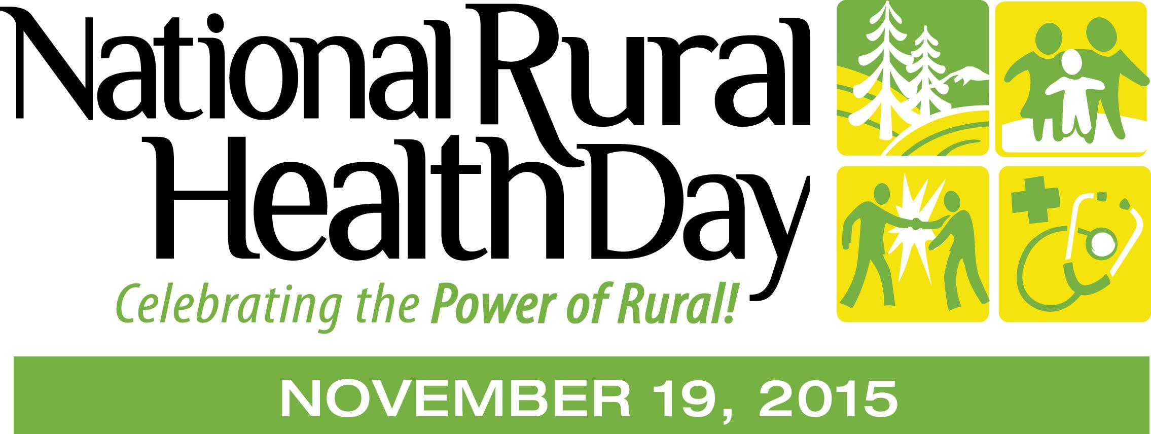 National Rural Health Day Logo for November 19 2015