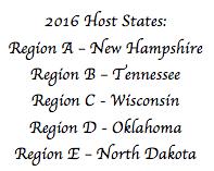 Regional Meeting Host States