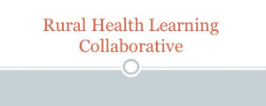 Rural Health Learning Collaborative