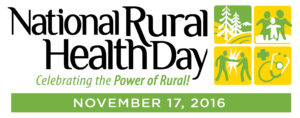 National Rural Health Day Logo With Date