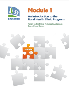 Module 1 - An Introduction to the Rural Health Clinic Program