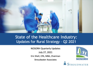 State of the Healthcare Industry: Updates for Rural Strategy – Q2 2021
